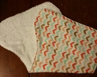 Set of 2 terry cloths burp rags