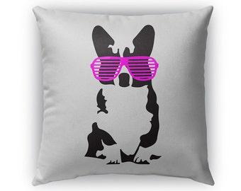 Kanye Corgi Pillow-Pink