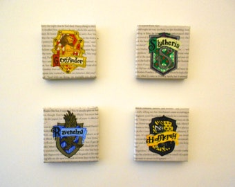 Harry Potter House Crests- Mini Canvas