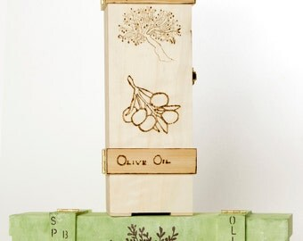 Olive Oil and Wine Gift Box