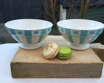 Set of 2 cafe ai lair bowls