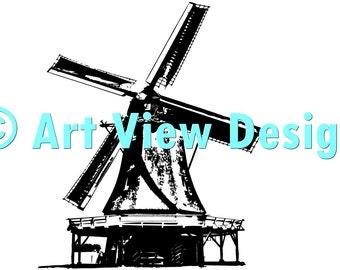 Dutch Windmill 1 ©