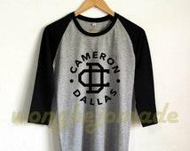 Cameron Dallas Shirt Vine Inspired Internet Personality Baseball Raglan 3/4 Tee Shirts Tshirt Unisex Size