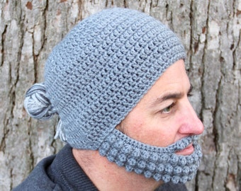 Winter Hat for Men, Man Bun Hat, The Minneapolis