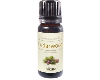 100% Pure Cedarwood Essential Oil 10ml, 50ml, 100ml