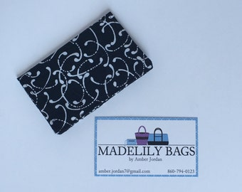 Credit Card,Business Card, Gift Card holder, black and white