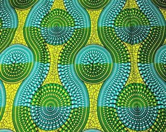 Two-toned African Print Fabric