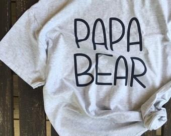 Papa Bear Tshirt
