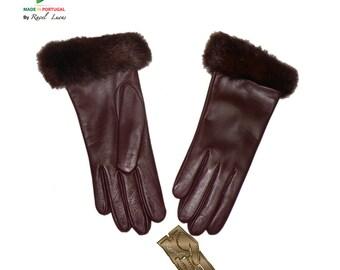 Ladies Leather Gloves (S192015)