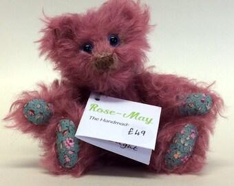 Lucy 13cm mohair bear