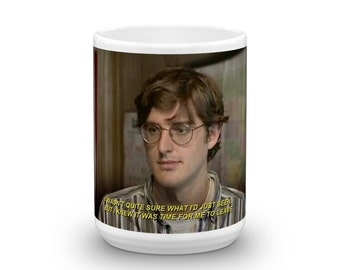 Louis THEROUX I Wasn't Sure What I Saw But I Knew it Was Time to Leave 11oz  MUG Cup