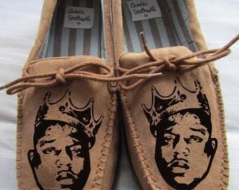 biggie smalls Slippers Mens BIG clan t shirt hip hop gza rza odb hoodie art big poppa notorious