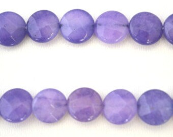 Lilac Agate Round Gemstone Beads, 1 strand 45 PCs, Size 10mm Natural, healing, chakra, birthstone for Jewelry Making
