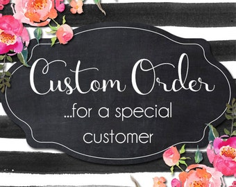 Custom Wreath Order