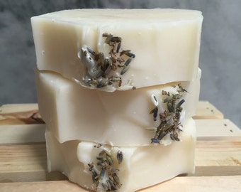 Lavender soap - all natural, handmade, shea butter, cold process soap