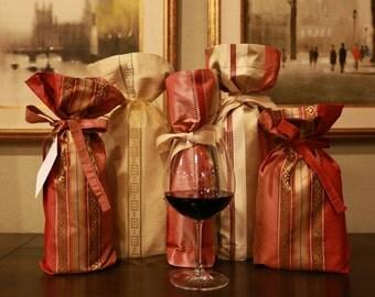 Elegant Wine Gift Bag, 375 ml or Split Size