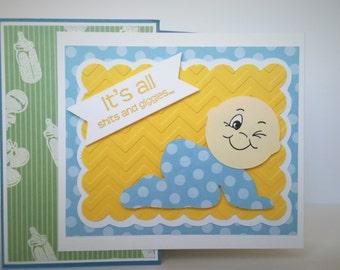 Boy/Girl Baby Shower Gift Card Holder
