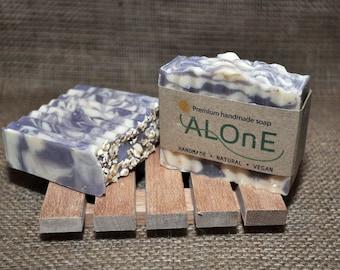 Lavender and Oat Vegan Soap Bar