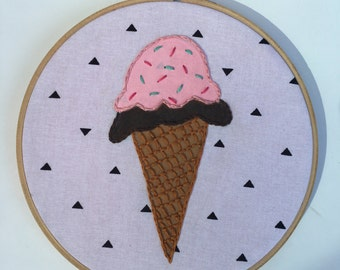 Ice Cream Cone Hoop