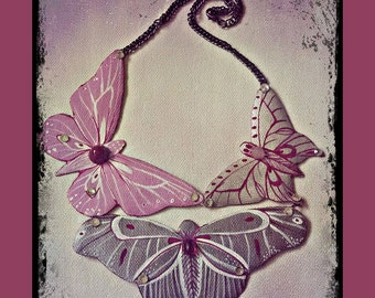 Chic butterflies necklace