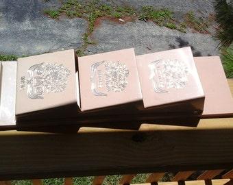 60s Memo / Key Holder, Beige Plastic Fesco Letters, Notes, Misc. Holder