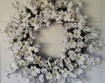 Dogwood Flower Wreath