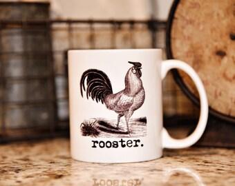 ROOSTER FARM ANIMAL Mug - The Farmhouse Collection