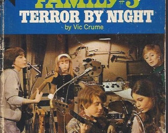 The Partridge Family #5 Terror By Night Vintage Paperback 1971