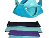 Blue and Purple Bunk Bed and Flat Hammock Value Set