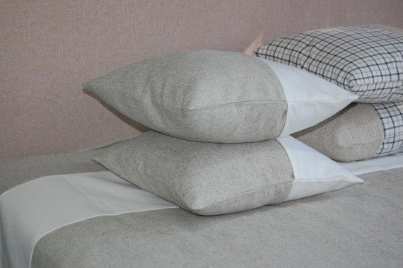 Items similar to HEMP Decorative Pillow/Decorative pillow cases /Hemp pillow cases /Hemp pillow ...