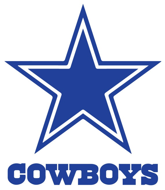 Dallas cowboys cornhole vinyl wall art decal by hottopicdecals for Dallas cowboys wall decals for kids rooms