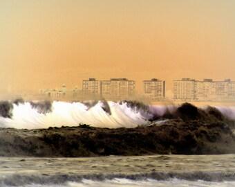 Winter Waves ~ 8x12 Photo on Metallic Paper