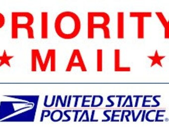 Extra shipping - Priority Mail