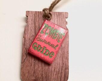 Zombie Survival Guide Bookmark