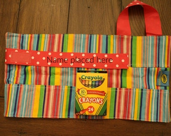 boy and girl doodlebugz crayola crayon keeper- personalized crayon keeper- birthday gift