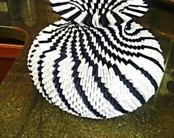 3D Origami Vase/weddings/Gift for teachers