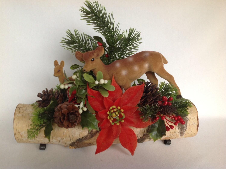 Centerpiece reindeer vintage christmas s