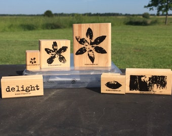 Paint Print Stampin Up Set (2005)