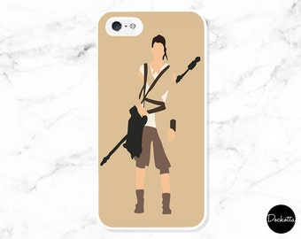 Star Wars iPhone & Samsung Case - Rey Minimalist
