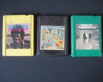 4 Track (rare) tapes Donavan The Band Simon and Garfunkel