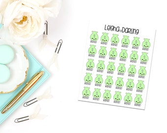Kawaii Budget Planner Stickers