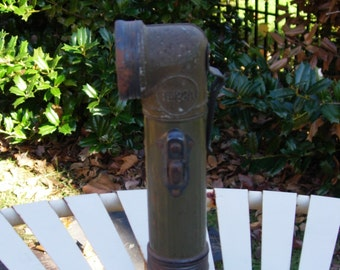 Vintage Flashlight Antique Flashlight Vintage Service Station Flashlight 1940's