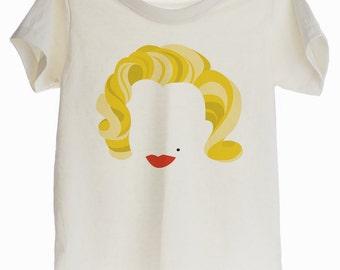 Marilyn Monroe Icon Organic T-shirt for Kids