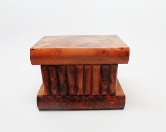 Thuya Mystery Box/Secret Puzzle Box Wood Thuya