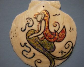 Scallop Shell Mermaid