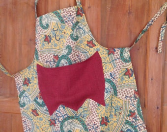 Kitchen apron or other work d Interior