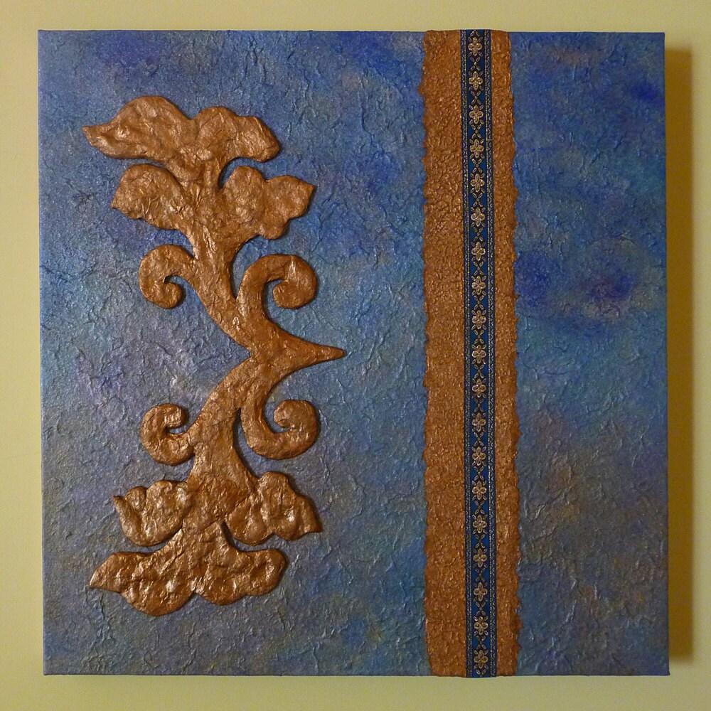 Pannello decorativo quadro materico a rilievo di artelorizia - Pannello decorativo design ...