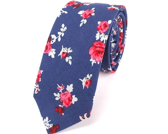 Floral Tie by Ollie & Ross