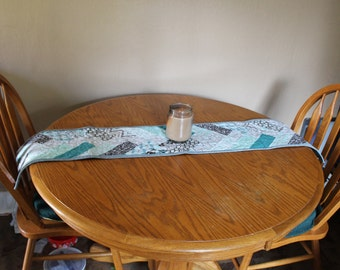 Table Runner, Braided Table Runner, Jelly Roll Table Runner