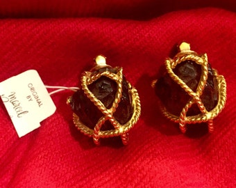 Vintage Signed Marcel Boucher Earrings